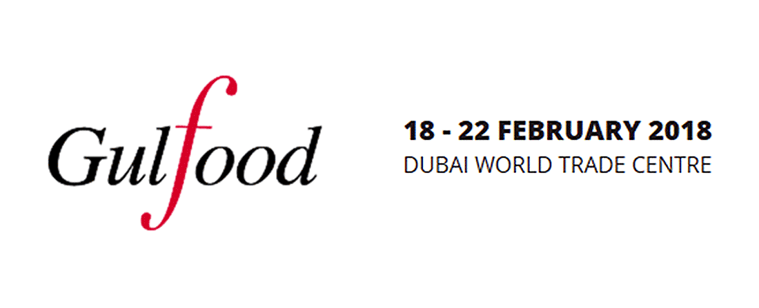 we are at Gulfood 2018 Dubai